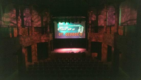 Inside Of Theatre S On There Stand Up Comedy Night