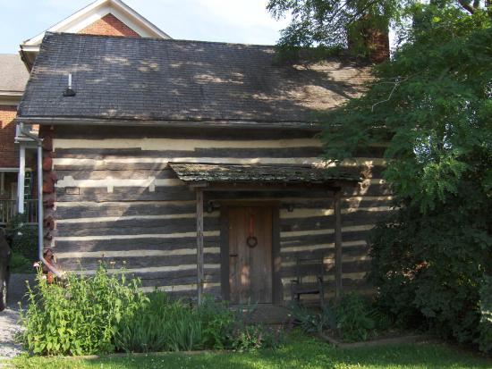 The James Wylie House: Back of the Cabin