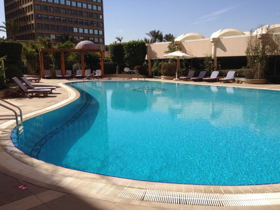 Hotel Swimming Pool Picture Of Conrad Cairo Cairo Tripadvisor