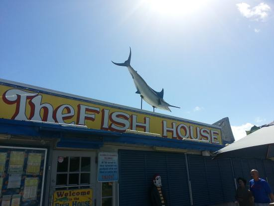 Exterior picture of the fish house key largo tripadvisor for Fish house key largo