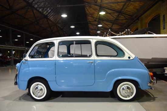 fiat multipla 1968 picture of classic remise berlin berlin tripadvisor. Black Bedroom Furniture Sets. Home Design Ideas