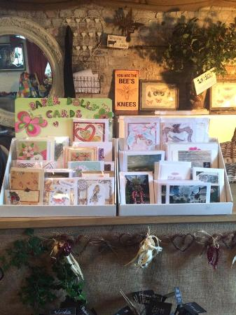 Handmade cards for sale picture of the potting shed for Garden shed edinburgh sale