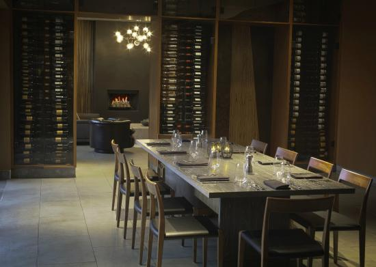 Knife restaurant private dining room picture of the for Best private dining rooms dallas