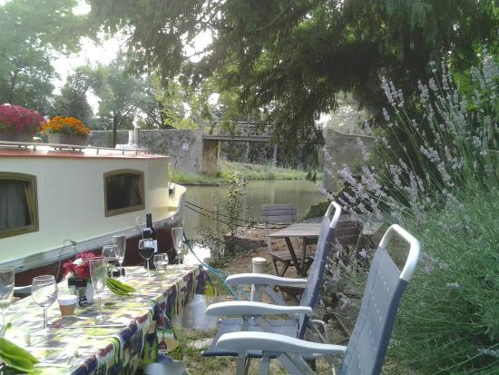 Cooking by The Canal du Midi