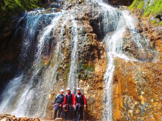 Шладминг, Австрия: Canyoning in Schladming