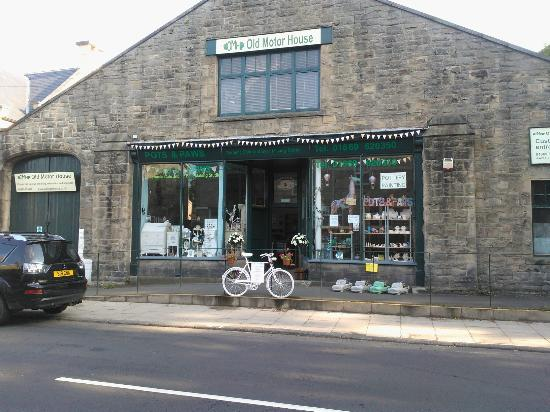 The old motor house picture of pots paws rothbury for Furniture link guildford