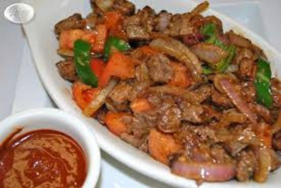 Ethiopian beef Tibs Dish - Picture of Moorooka, Greater Brisbane ...