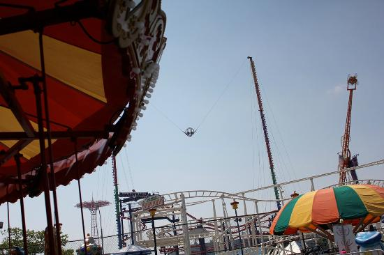 Parc picture of luna park at coney island brooklyn for Puerta 7 luna park