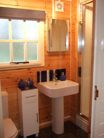 Trefin, UK: En suite Shower room with toilet