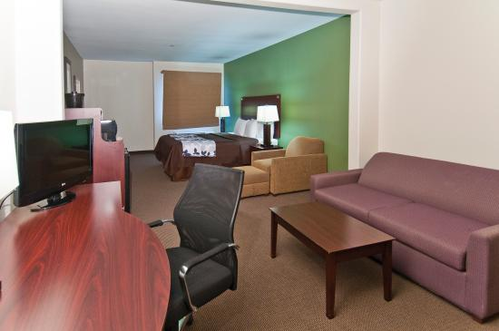 Sleep Inn & Suites Bush Intercontinental Airport IAH East: KING SUITE