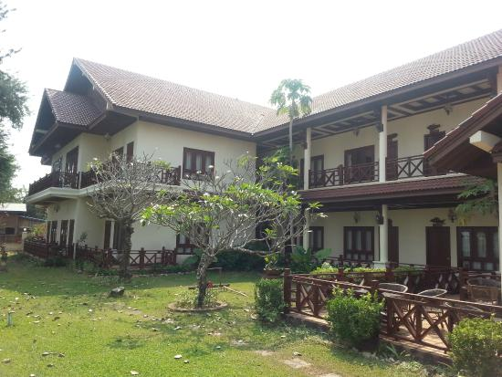 Don Kho, Laos: Hotel & Grounds