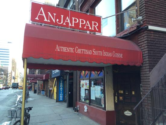 Anjappar Chettinad South Indian Cuisine New York City