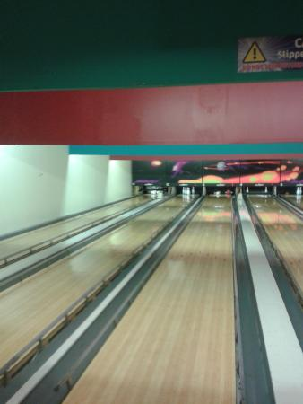 Strikers Bowling Alley at Rossis Leisure