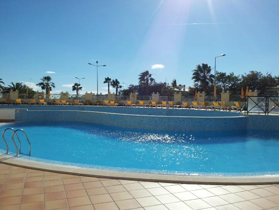 Outdoor pool picture of hotel apartamento forte do vale Dunfermline hotels with swimming pool
