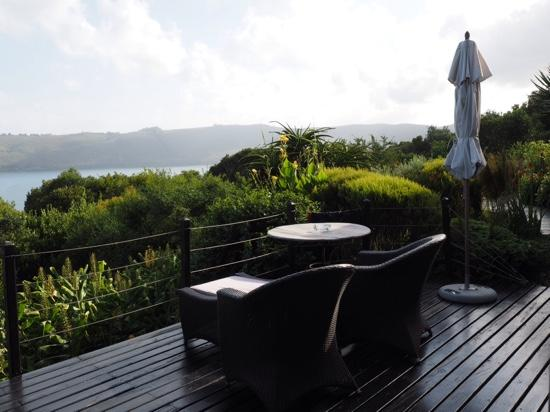 Kanonkop Guest House: terrasse am forest room