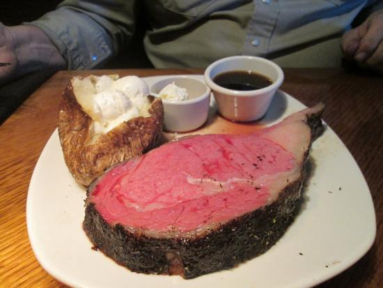 Prime Rib The Largest Picture Of Outback Steakhouse