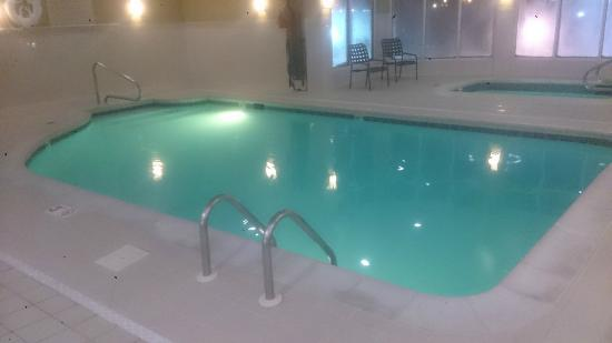 Pool Picture Of Hilton Garden Inn Cincinnati Blue Ash Blue Ash Tripadvisor