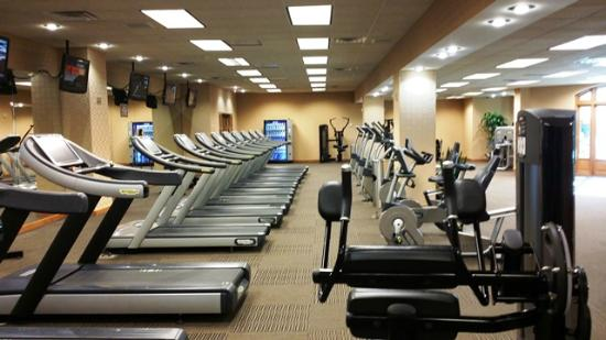 Fitness Center Cardio Section Picture Of Gaylord Texan