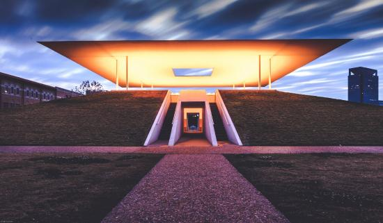 skyspace at rice university picture of james turrell 39 s twilight epiphany skyscape houston. Black Bedroom Furniture Sets. Home Design Ideas