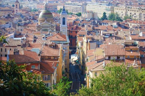 Vieux nice picture of old town vieille ville nice for Piscine vieux nice