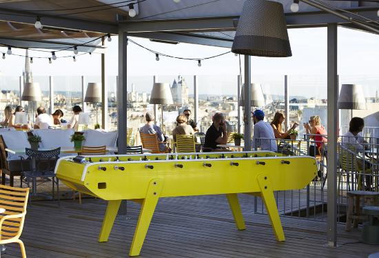 Rooftop picture of mama shelter bordeaux bordeaux tripadvisor - Hotel mama shelter bordeaux ...