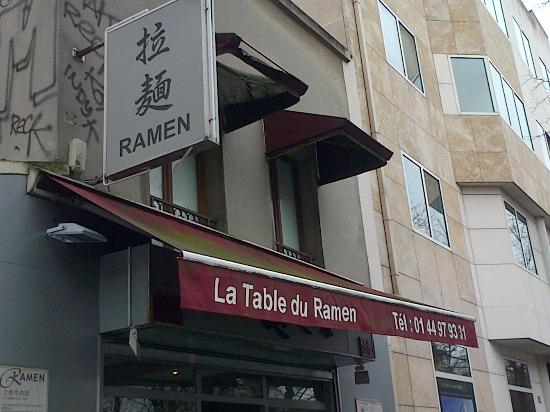 Enseigne Table Du Ramen Picture Of La Table Du Ramen Paris Tripadvisor