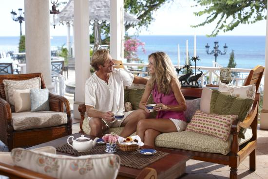 Tea terrace picture of sandals royal plantation ocho for 15 royal terrace reviews