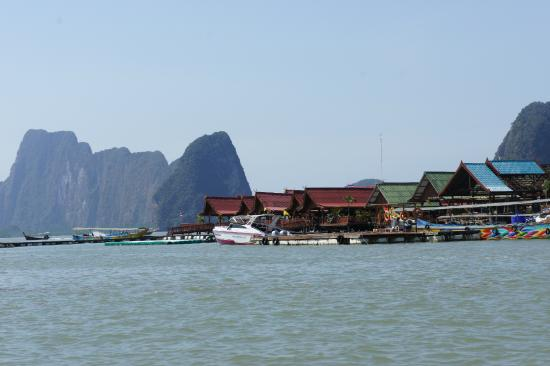 Koh Panyi (Floating Muslim Village)  - Picture of Krabi Town, Krabi Province...