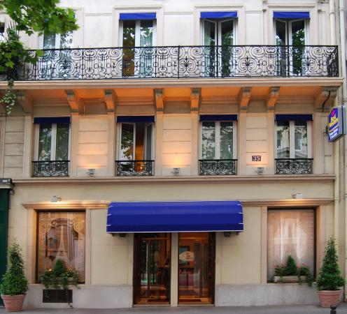 Best western tour eiffel invalides paris france hotel for Hotels by the eiffel tower