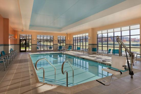 Unwind And Enjoy A Dip In Our Heated Indoor Pool Picture Of Towneplace Suites Harrisburg West