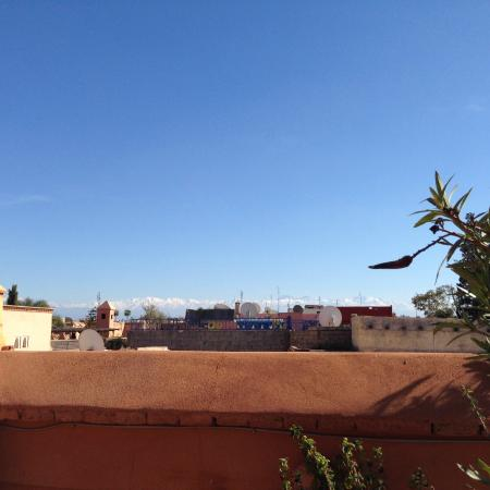 Riyad El Cadi: View of the mountains from your sunlounger