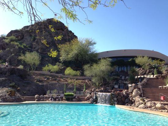 Pool picture of the buttes a marriott resort tempe for Tempe swimming pool