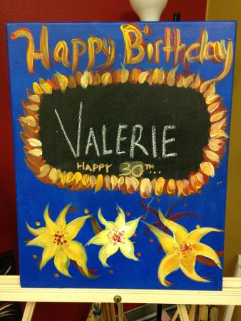 Birthday picture of painting with a twist bradenton for Painting with a twist locations near me