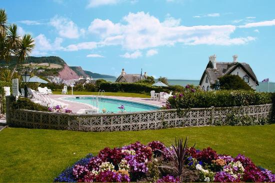 Swimming Pool Picture Of Sidmouth Harbour Hotel The Westcliff Sidmouth Tripadvisor