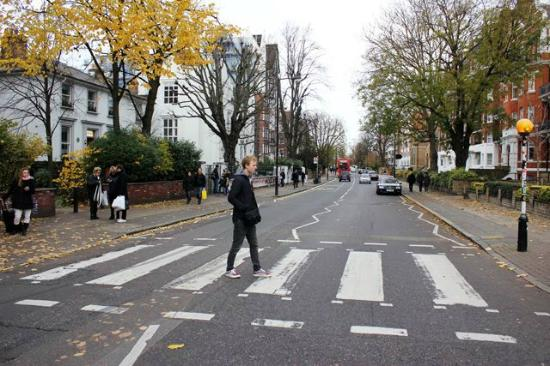 Beatles coffee shop st johns wood picture of abbey for Abbey road salon