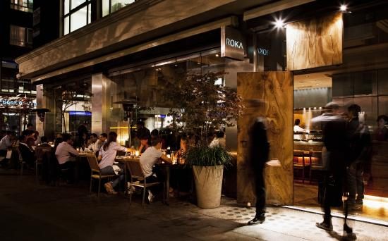 Terrace picture of roka charlotte street london for Terrace restaurant charlotte