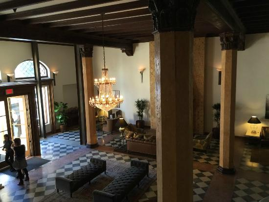 Lobby picture of hotel normandie la los angeles for Boutique hotel normandie