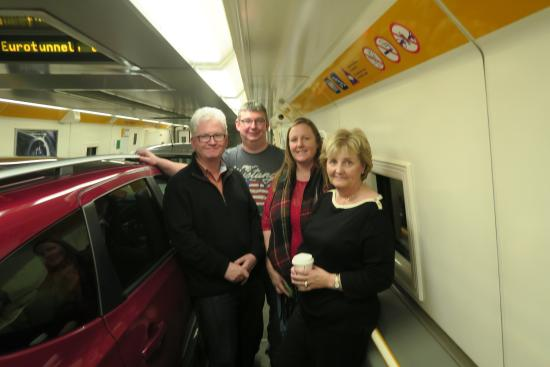 Train To France With Car From Uk