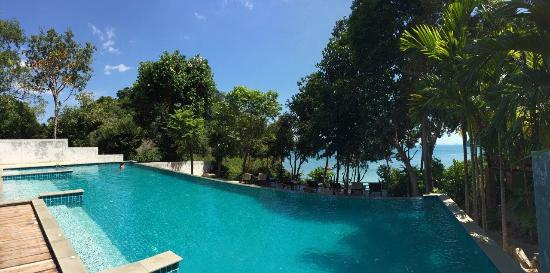 La piscine d bordement picture of railay great view for Piscine a debordement