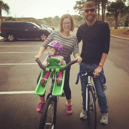 Bon Bikes Hilton Head Bon Bicycles With child front