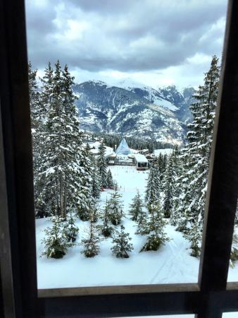 Courchevel, France: View from Suite