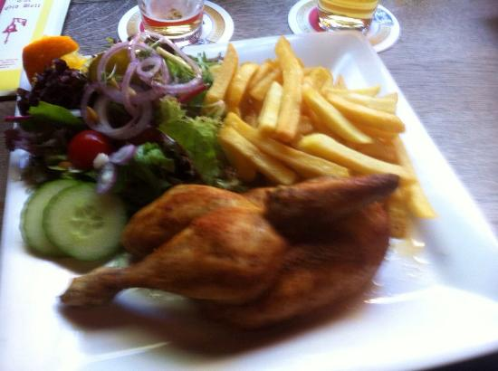 Roast Chicken! - Photo de The Old Bell, Amsterdam - TripAdvisor