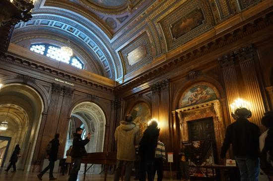 Interieur picture of new york public library new york for Interieur new york