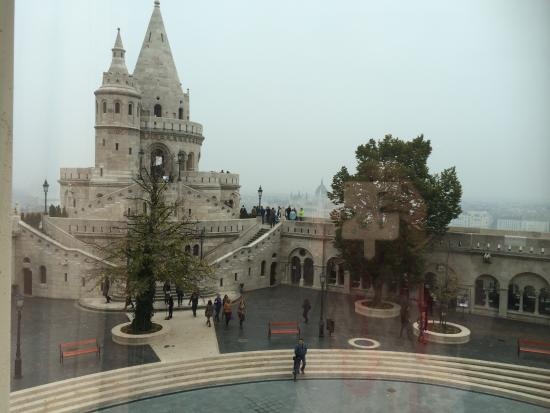 View From Our Room Picture Of Hilton Budapest Castle District Budapest Tripadvisor