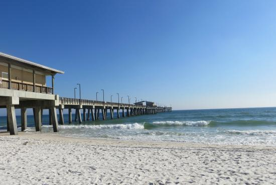 Show picture of gulf state park fishing pier gulf for Pier fishing gulf shores al