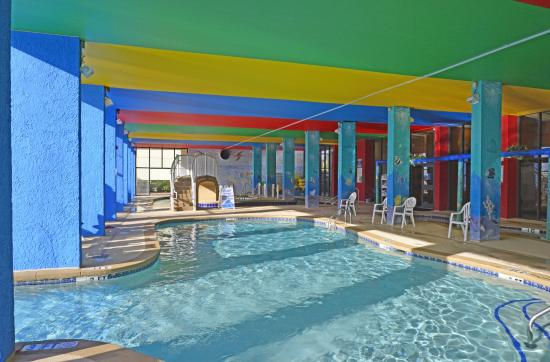 Indoor pool picture of monterey bay suites myrtle beach for Pool show monterey