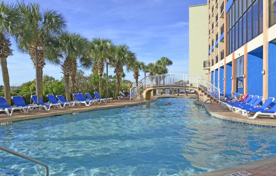 Oceanfront Pool Picture Of Monterey Bay Suites Myrtle Beach Tripadvisor