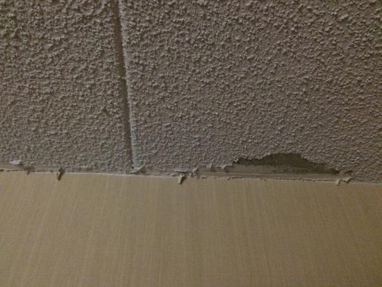 Wingate by Wyndham Springfield: More flaking ceiling