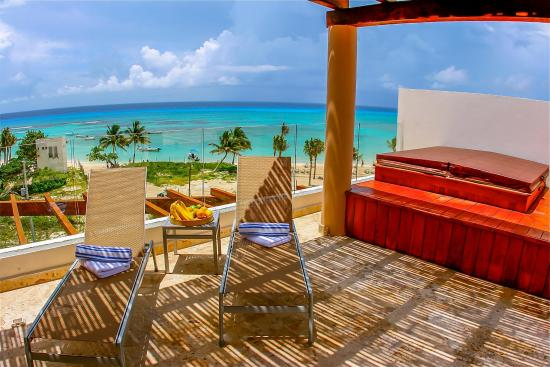 Penthouse unit picture of the elements playa del carmen for The elements playa del carmen