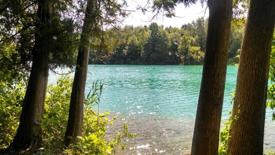 Green Lakes State Park: No filter!